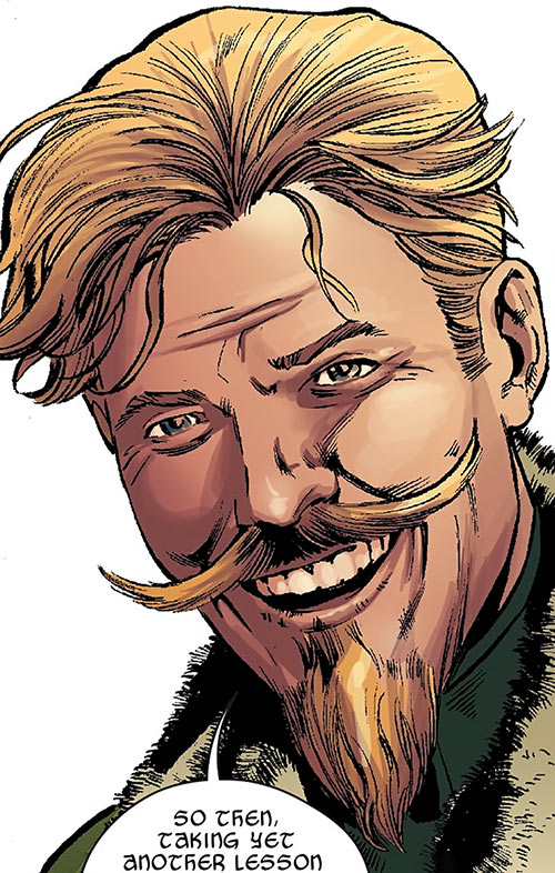 Fandral the Dashing - Marvel Comics - Thor Asgard - Portrait