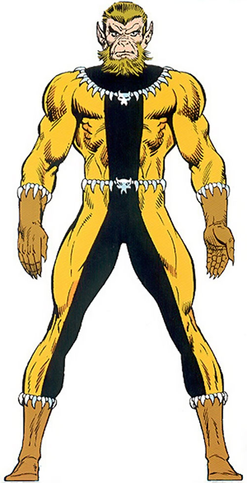 Fang (Shi'ar Imperial Guard) (X-Men) from the Master Edition handbook