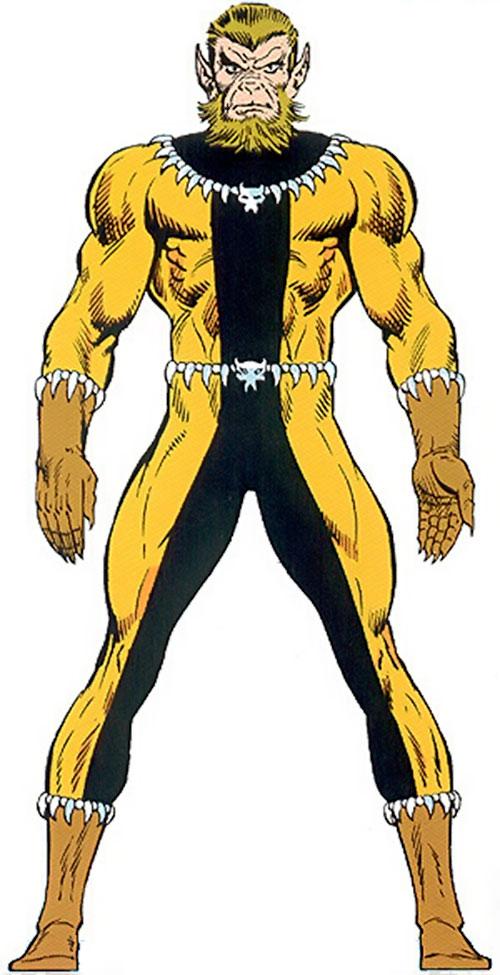 Fang (Shi'ar Imperial Guard) (X-Men) from the Master Edition handbook