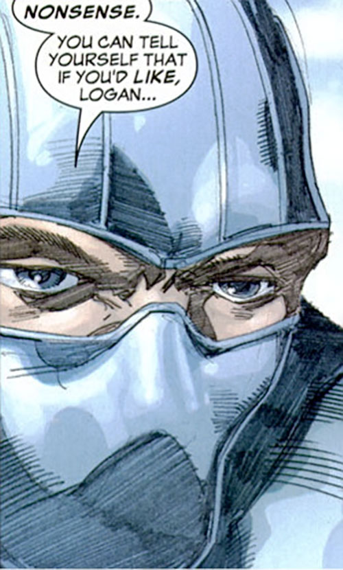 Fantomex (X-Men character) (Marvel Comics) face closeup