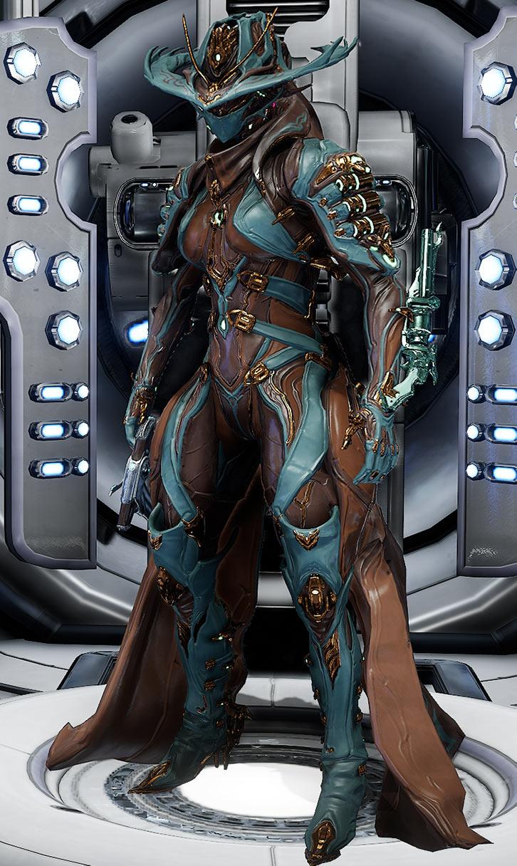 Fashionframe - Warframe - Mesa prime