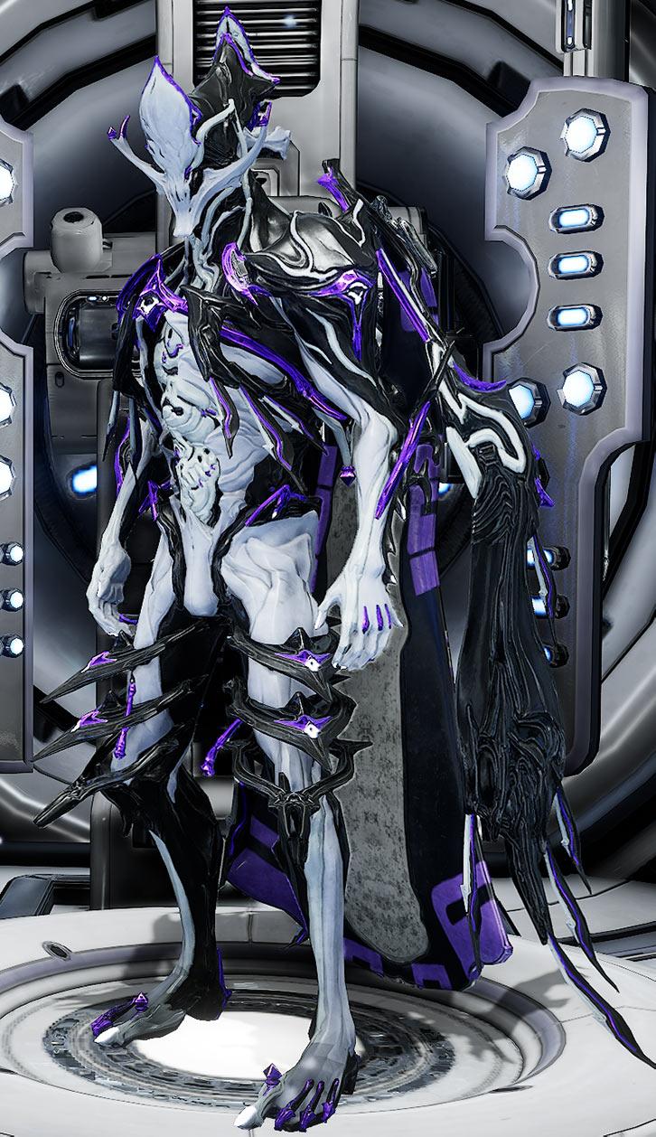 Fashionframe - Warframe - Nekros prime