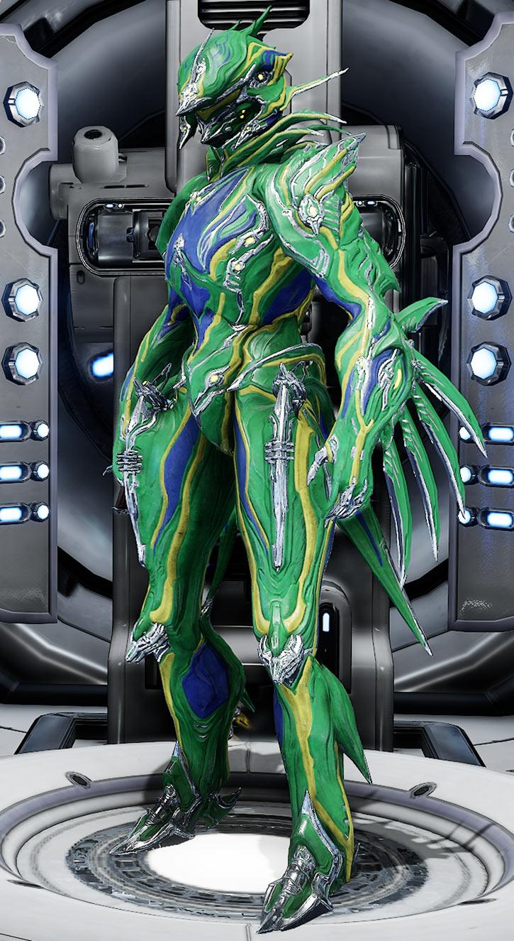 Fashionframe - Warframe - Zephyr prime