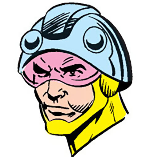 Fastball of the Cadre (DC Comics) portrait from the Who's Who