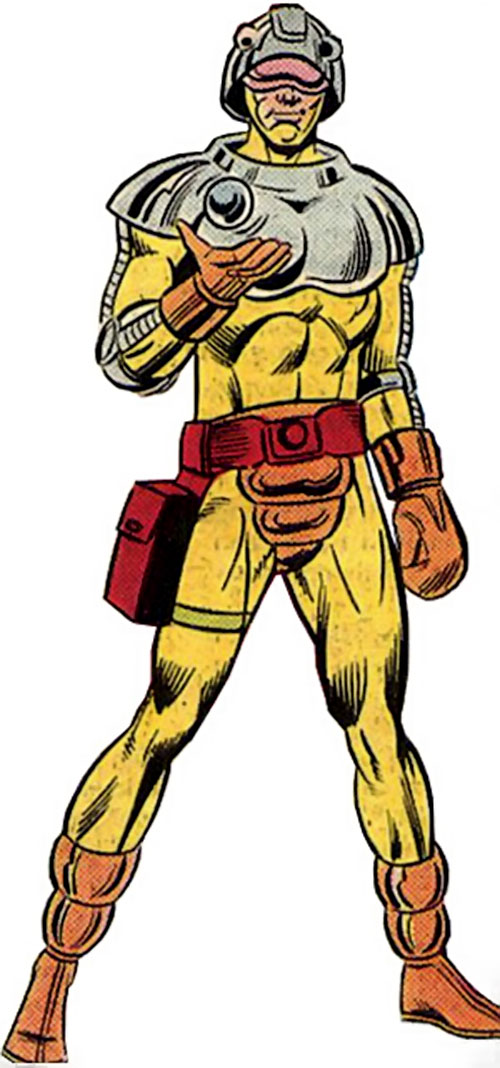 Fastball of the Cadre (JLA enemy) (DC Comics)