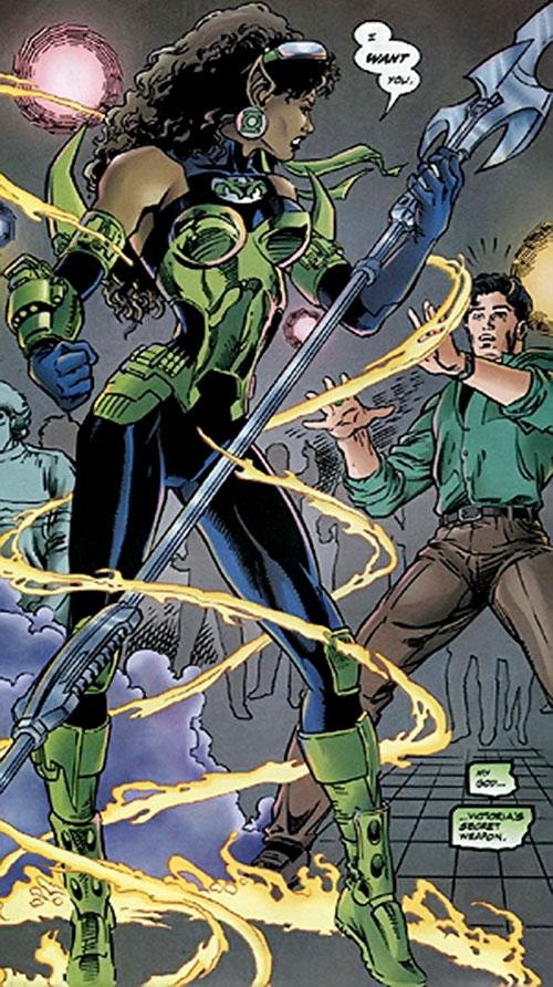 Fatality (Green Lantern enemy) (DC Comics) uncloaking