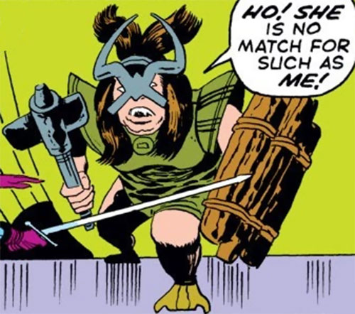 Troll female mercenary (Thor enemy) (Marvel Comics)