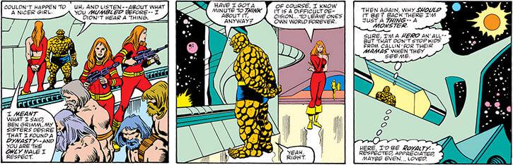 Femizonia (Marvel Comics) 1987 version - security and satellite