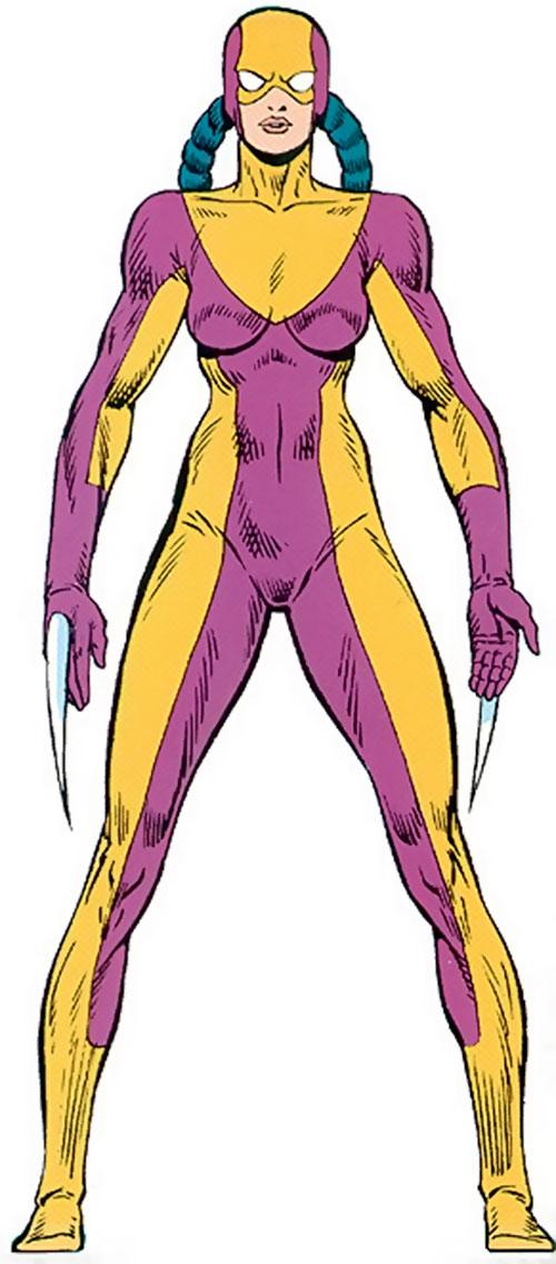 Fer-de-Lance (Marvel Comics) from the Master Edition handbook