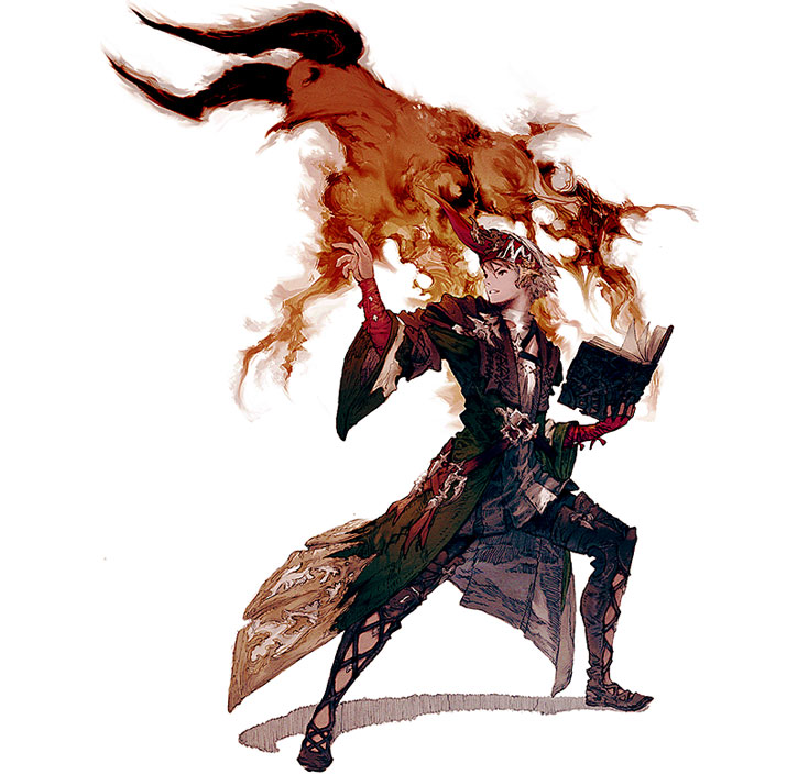 Final Fantasy summoner
