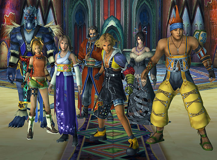 Player Characters in Final Fantasy X