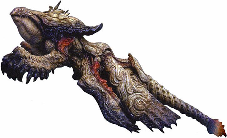The SIN monster in Final Fantasy