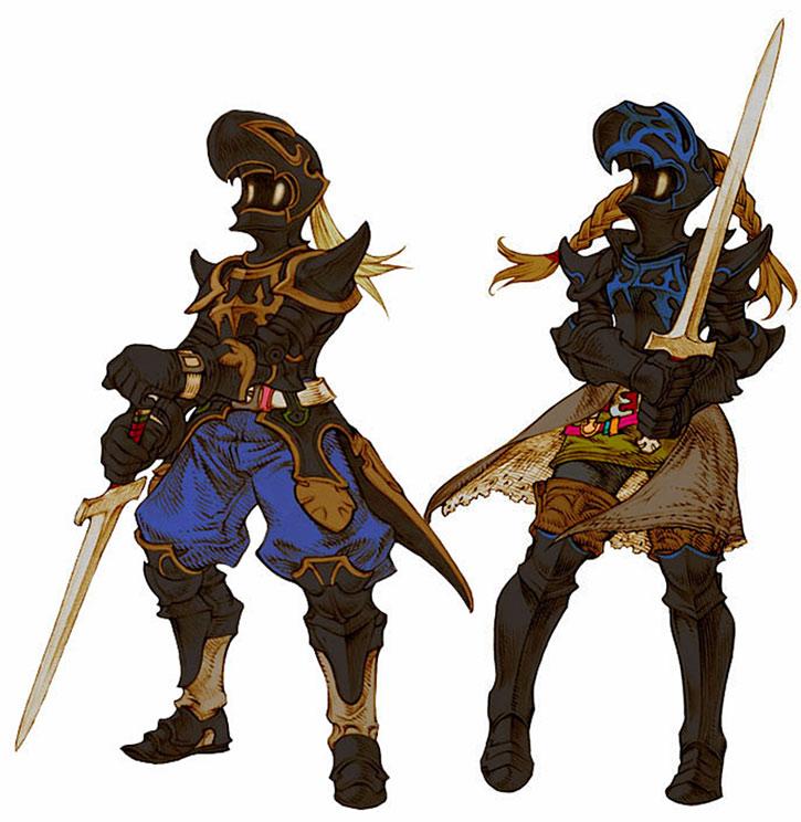 Final Fantasy dark knights