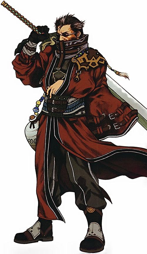Auron in Final Fantasy X
