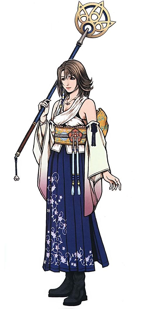 Yuna in Final Fantasy X