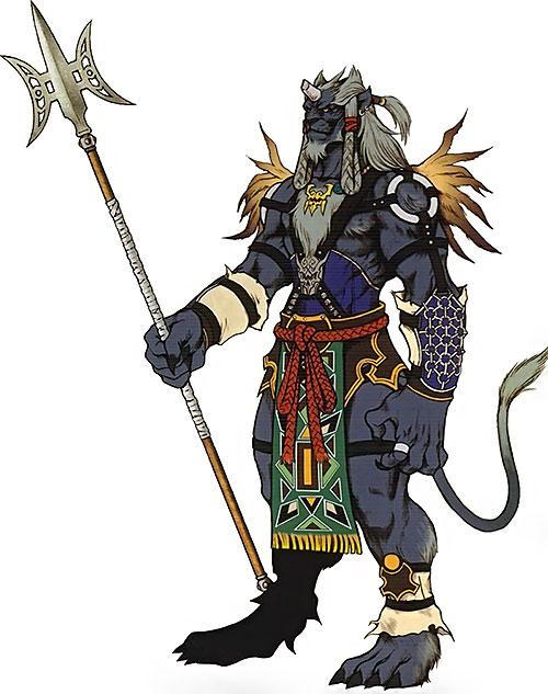 Kimahri in Final Fantasy X