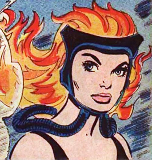 Fire-Haired Karla portrait