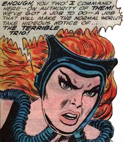 Fire-Haired Karla is angry