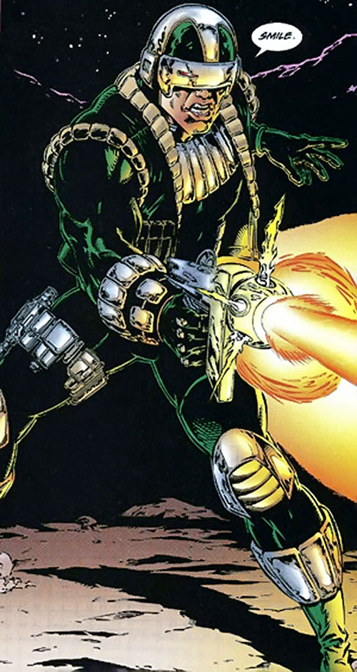 Firearm (Hitch/Lopez) (Ultraverse comics)