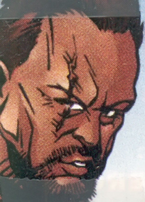 Firearm (Alec Swan) (Ultraverse Malibu comics) face closeup
