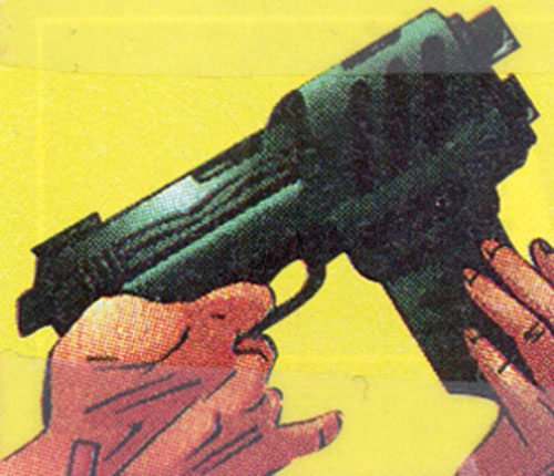 Firearm (Alec Swan) (Ultraverse Malibu comics)'s gun