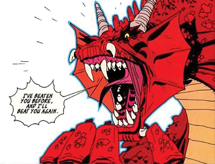 Yelling dragon