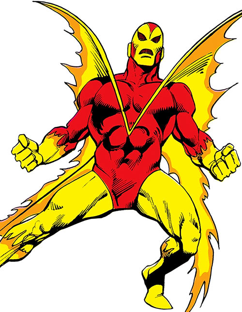 Firebug (pre-Crisis version) (DC Comics)