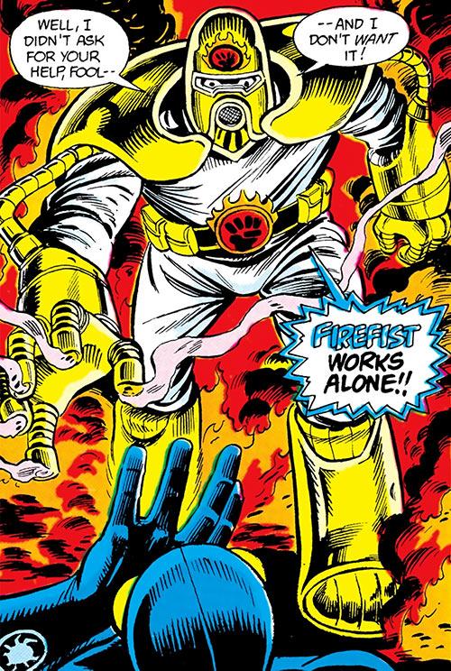 Firefist (Blue Beetle enemy) (DC Comics)