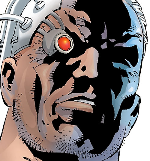 Firefox (Marvel Comics) face closeup