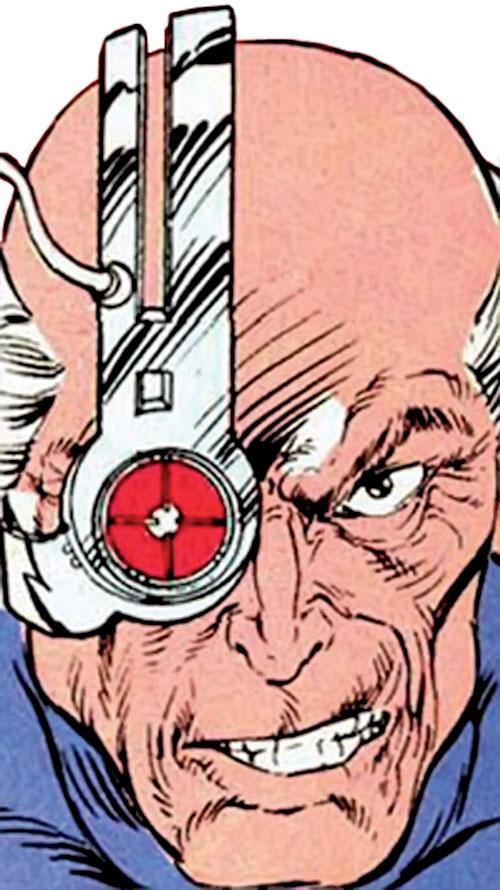 Firefox (Marvel Comics) cybernetic eyepiece