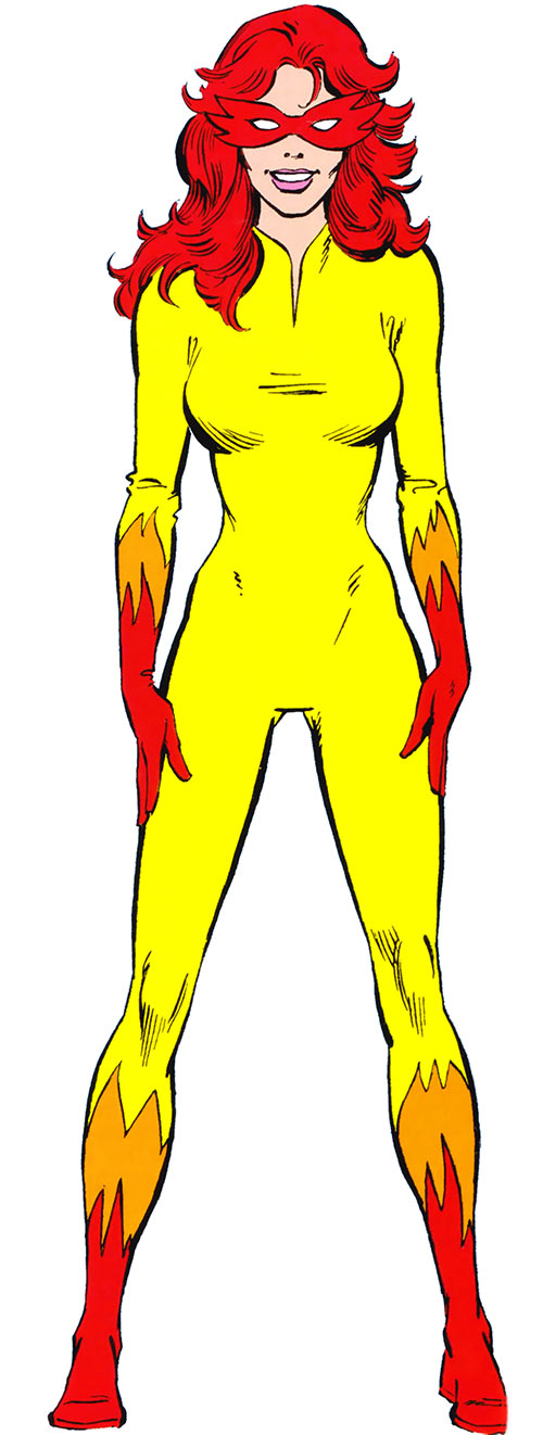 Firestar (Marvel Comics) (Avengers ; New Warriors) 1980s handbook