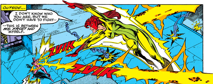 Firestar (Marvel Comics) (Avengers ; New Warriors) vs. Bevatron