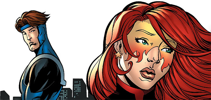Firestar (Marvel Comics) (Avengers ; New Warriors) and Justice breakup