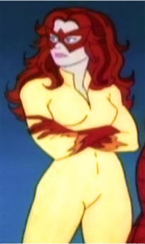 Firestar (Spider-Man Amazing Friends) crossed arms