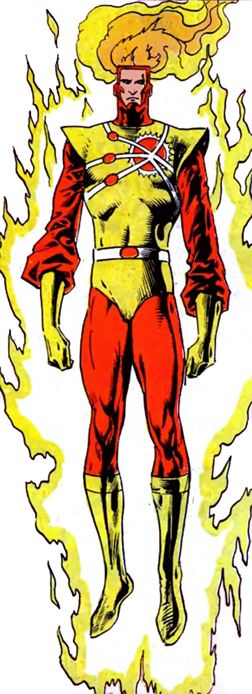 Firestorm during the 1980s (DC Comics) (Raymond / Arkadin version)