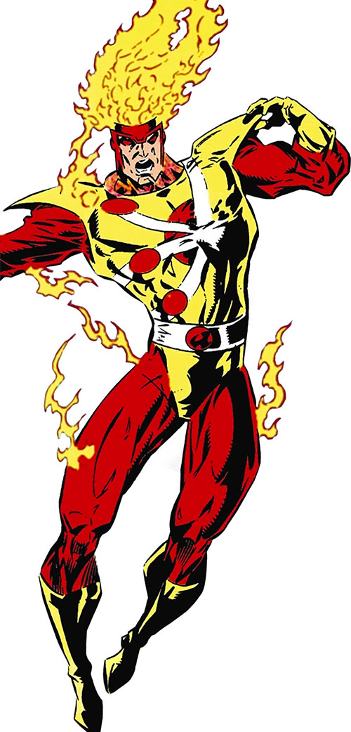 Firestorm of Extreme Justice (DC Comics)