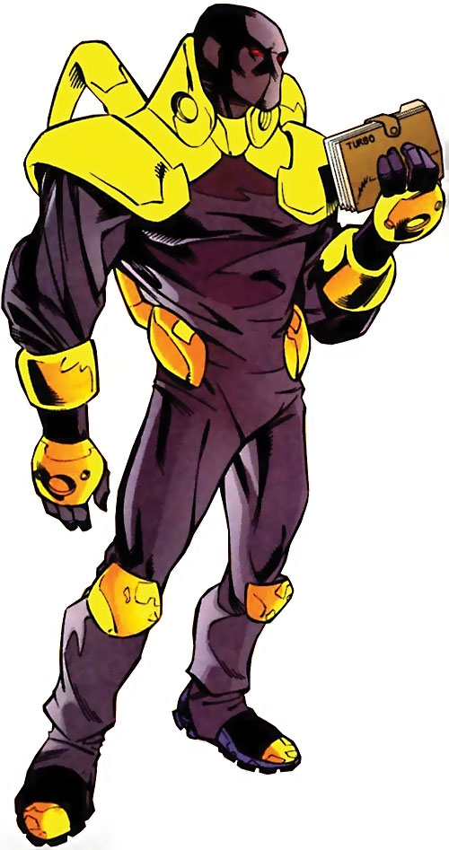 Firestrike (New Warriors enemy) (Marvel Comics)