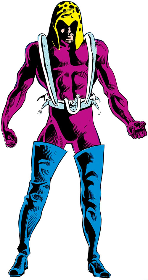 Fisherman (DC Comics) (Aquaman enemy) from the Who's Who over a white background