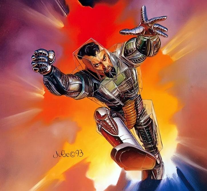 Trevor Fitzroy's chronomancer armor