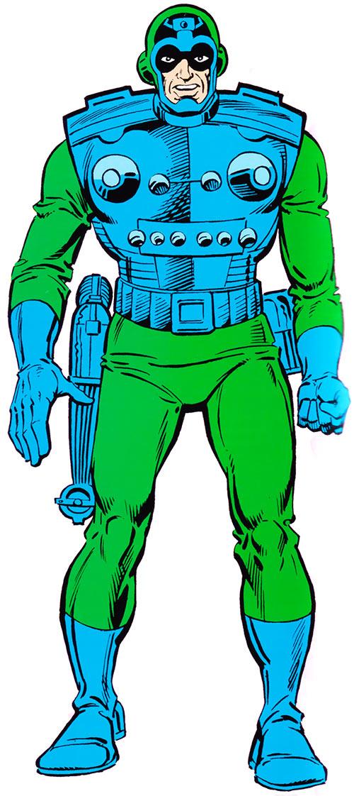 Fixer (Marvel Comics) 1985 official handbook