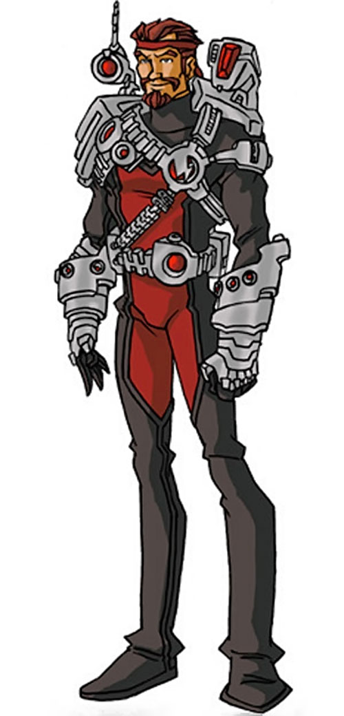 Fixer of the Thunderbolts (Marvel Comics) by RonnieThunderbolts 2/3