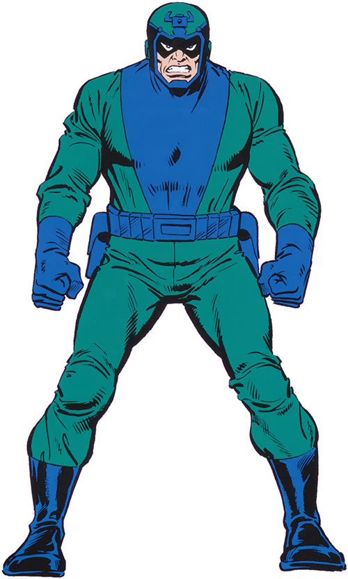 Fixer from the 1983 Official Marvel Comics Handbook