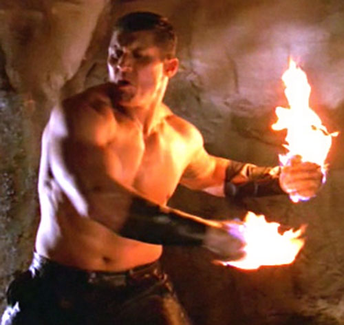 Flame demon (Tanoai Reed in Buffy the Vampire Slayer)