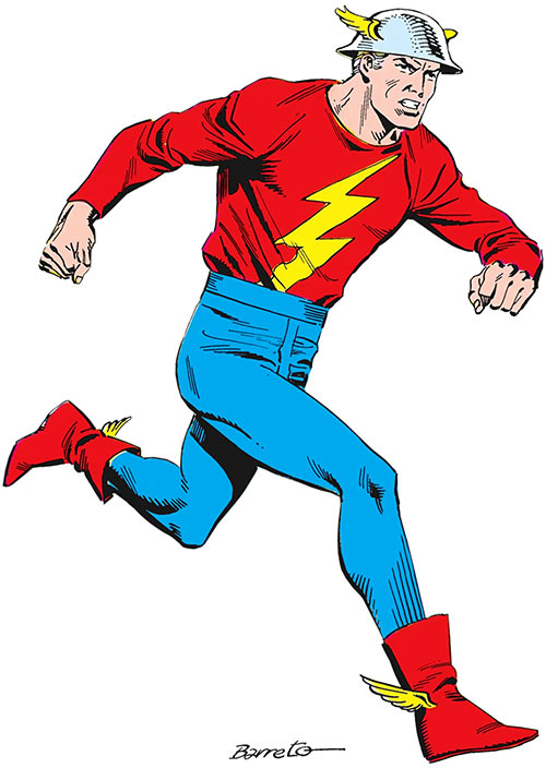 Flash (Jay Garrick) Who's Who art