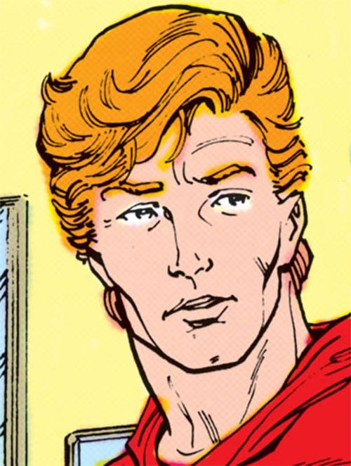 Flash (Wally West) (DC Comics) face closeup