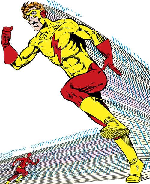 Wally West as Kid Flash (DC Comics) (Who's Who George Pérez art)