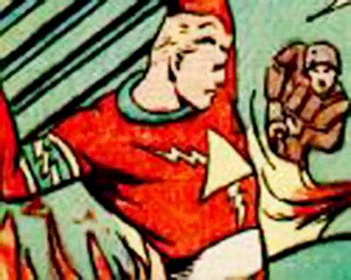 Flash Lightning aka Lash Lightning (Ace Magazines comics)