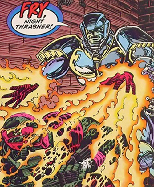 Flashburn vs. Night Thrasher