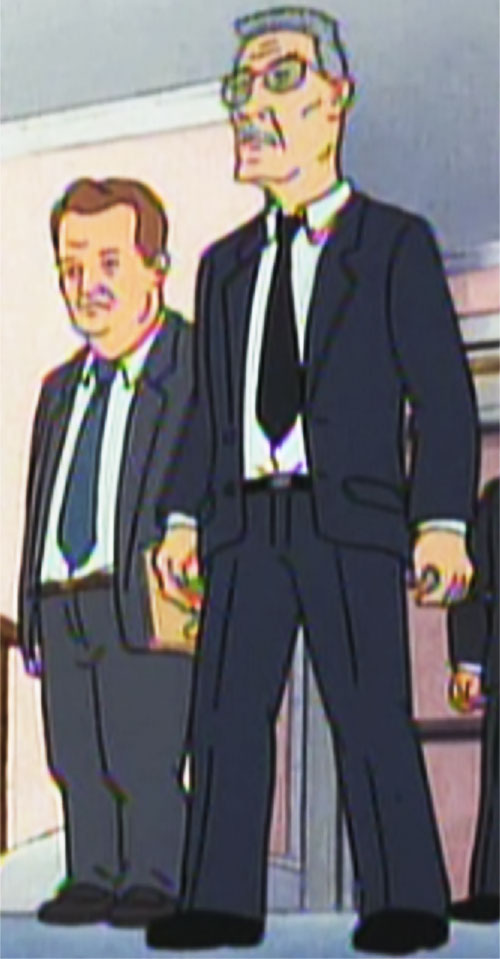 Agent Flemming (Beavis and Butthead) and Agent Bork