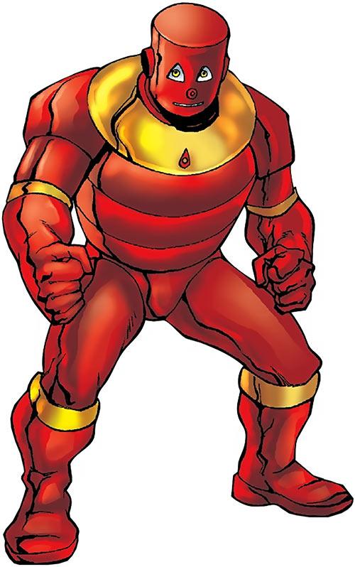 Flexo the robot (Marvel / Timely Comics) Gus Vasquez art mystery sourcebook